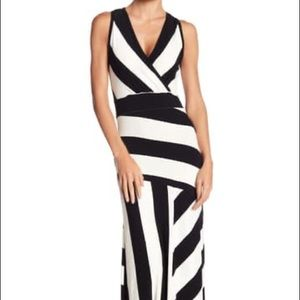 Go Couture NEW Sleeveless Maxi Stripe Dress Medium
